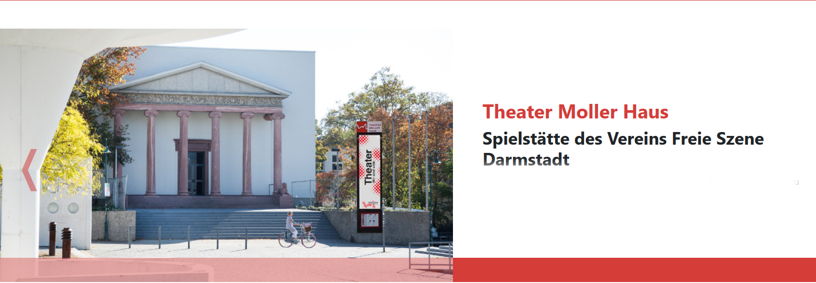 Screenshot Theater Mollerhaus, Darmstadt
