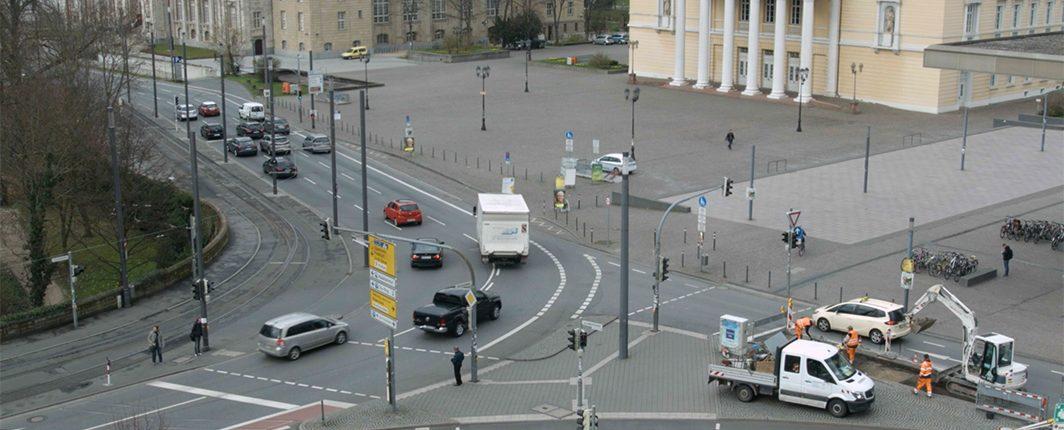 Verkehr Darmstadt